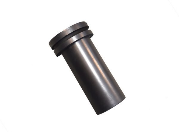 graphite crucible for melting down gold and refining as well as recovery of precious metal and prospecting tools and supplies