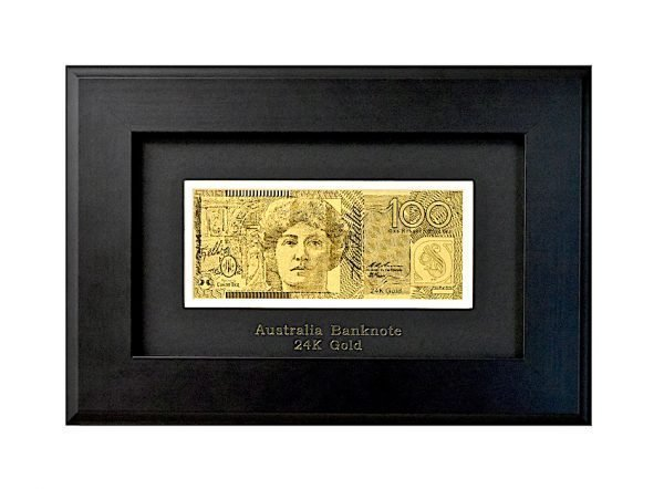 supurb quality gold banknote 100 dollar austraian bill from thegoldmakers sold by gmaproducts
